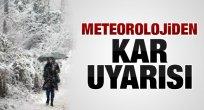 Orta Karadeniz İçin Kar Uyarısı