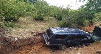 Otomobil Fındık Bahçesine Uçtu:8 Yaralı