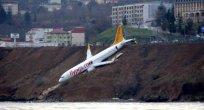 Trabzon Havalimanında Facianın Eşiğinden Dönüldü
