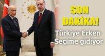 Türkiye Erken Seçime Gidiyor
