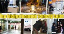 Ünye Belediyesi Koronavisür Seferberliği Başlattı
