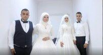 Ünye'de Çifte  Düğün Şaşırttı