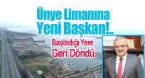 Ünye Limanı'na Yeni Başkan!..