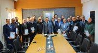Ünye'de başarılı polislere 'başarı belgesi'