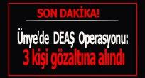 Ünye'de DEAŞ operasyonu: 3 şahıs gözaltına alındı