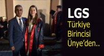 Ünyeli Öğrenci LGS'de Türkiye Birincisi Oldu