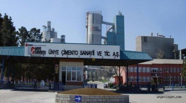 Ünye Çimento Fabrikası'nda Ölümlü Kaza