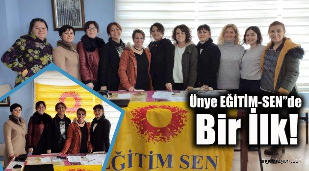 """Ünye EĞİTİM-SEN""""de Bir İlk!"""