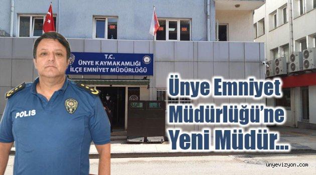 Ünye Emniyet Müdürlüğü'ne Yeni Müdür Atandı