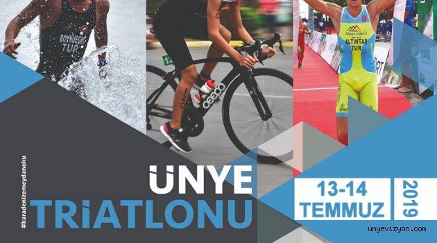 Ünye Triatlonu 13-14 Temmuz'da