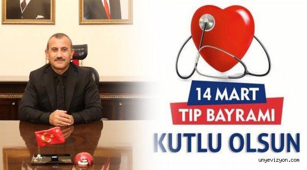 Vali Tuncay SONEL'in 14 Mart Tıp Bayramı Mesajı