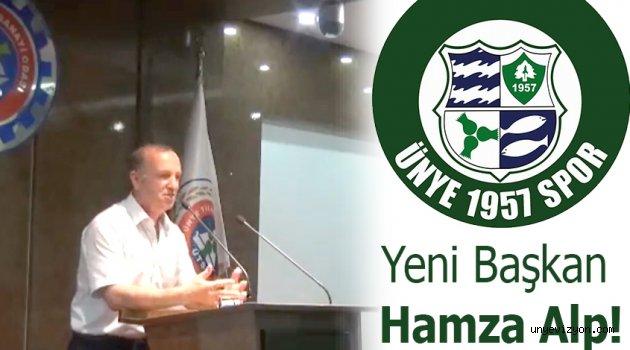 Yeni Başkan Hamza Alp!..